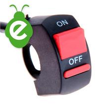 On/off Switch Llave Encendido Luces Auxiliares Moto U5 U7