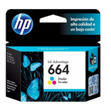 Cartucho Original Hp 664 Tricolor Para 2135 3635 4535 4675