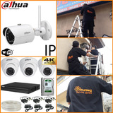 Alarmas Y Camaras De Seguridad,instalacion Control De Acceso