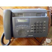 Teléfono Fax Sharp Ux-44 Color Gris (eeuu)