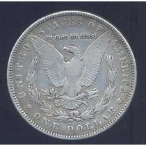Usa Dolar Morgan 1884 Plata Rara Silver Dollar Km 110
