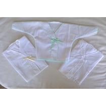 Batita De Linon X 3 Indispensable P Cubrir Al Recien Nacido