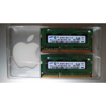 Memoria Samsung 4gb 2x2gb Apple Mac Pc 1rx8 Pc3-10600s Dual