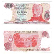 Argentina, Billete De 1 Peso Argentino, Bottero 2601