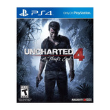 Uncharted 4 A Thiefs End Ps4 Fisico Nfg Belgrano