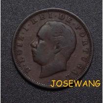20reis. Moneda Antigua De Portuguesa Del Año 1883