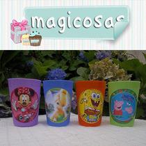 Vasos Personalizados Plastico Souvenir Cumpleaños Fiestas