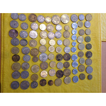 Lote 91 Monedas De Uruguay