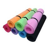 Colchoneta Ejercicios 100x60cm X 6mm Yoga Pilates Gym