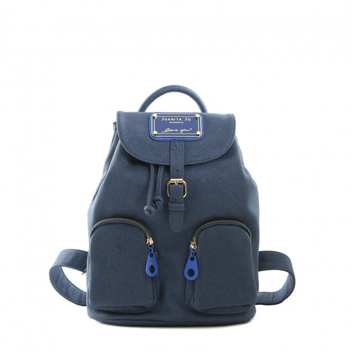 0869c3ce5 Mochila Juanita Jo 10604 Acanthus Azul Fucsia Original en venta en ...