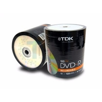 Dvd-r Tdk 4.7gb 8x. Torre De 100 Unidades Zona Ituzaingo