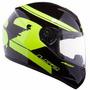 Casco Ls2 Ff350 Fluo Hi Vision Moto Delta Tigre
