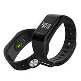 Reloj Inteligente Fitband F1 Monitor Cardiaco + 6 Cuotas
