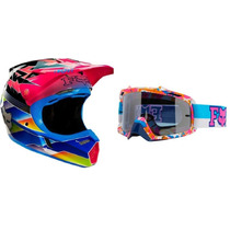 Casco Fox V3 + Antiparras Airspc 2016 Image Limited Edition