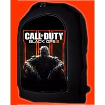 Mochilas Call Of Duty Varios Tamaños Para Niños Y P/ Adultos