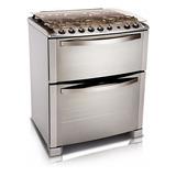 Cocina Electrolux 76dtx Horno Doble Multigas 8327