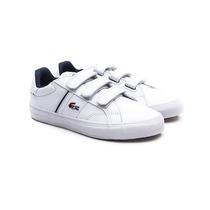 Zapatillas Lacoste Niños Fairlead Ww Cuero Velcro/ Brand
