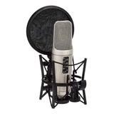 Micrófono Rode Nt2-a Cardioide, Omnidireccional Plata