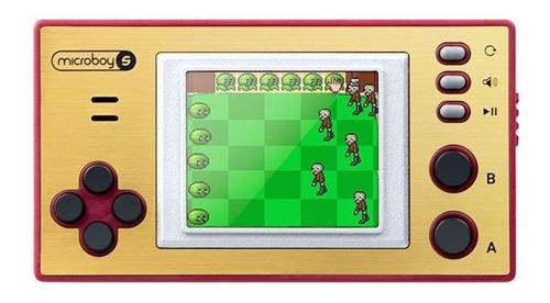 Consola Level Up Microboy S Dorada Y Roja