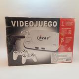 Consola Family Game Av & T C/ 2 Joystick Y 1 Juego Local