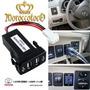 Accesorio Cargador Usb Tablero Toyota Hilux Sw4 Importado