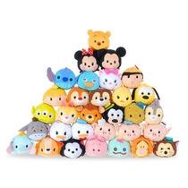Tsum Tsum Los Muñecos De Peluche De Los Personajes De Disney
