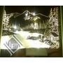 Cuadros, Espejo, Velador Con Luz Tenue Decoración, Novedosos