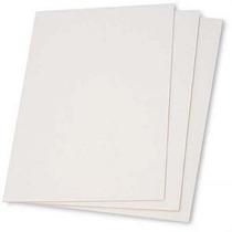 Cartón Entelado 20x20 Cm. Pack X 4 Unidades