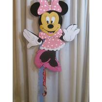 Preciosa Piñata Minnie Artesanal En Goma Eva