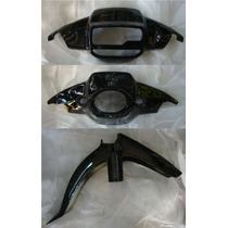 Cubre Optica, Cubre Tablero,guardabarro Yamaha Crypton Negro