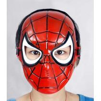 Spiderman Plastic Mask Para Chicos!, Niños, Disfraz, Mascara