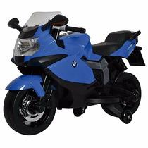 Moto Bmw A Batería Con Luz Y Música. Motor 30w Velocidades