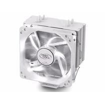 Cpu Cooler Deepcool Gammaxx 400 Led Blanco Intel Amd Am4 Oc
