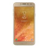 Celular Libre Samsung J4 Dorado Android Oreo 16 Gb