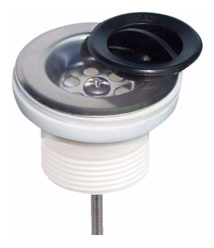 Desagüe Sopapa Plastica De Pileta Con Rosca 1½ Aquaflex