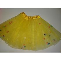 e6493e91d 1 Tutu Pollerita Tul Nena Pompones Danza Disfraz Souvenir en venta ...