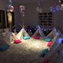 Cumpleaños Fiesta Pijamada Alquiler Carpas Tipi No Spa Party