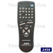 2458 Control Remoto Tv Rmc445 Jvc Grundig Gradiente