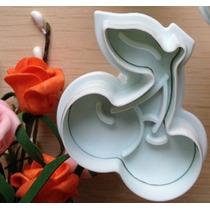 Cortante Con Expulsor Cereza Fondant Reposteria Porcelana