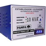 Elevador Automático De Tensión 10kva Pampa Rango 140v - 220v