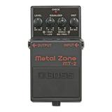 Pedal Efecto Guitarra Electrica Boss Mt2 Metal Zone