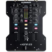 Mixer Dj Allen & Heat Xone 23 2 Canales Consola Mezcladora