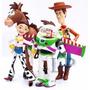 4 Muñecos Toy Story Woody Buzz Jessy Tiro Al Blanco 20 Cm