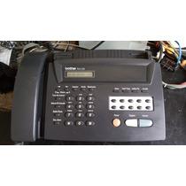 Fax Brother Fax 255 Detalle En Copia Imprime Con Rayas
