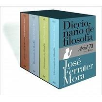 Diccionario De Filosofia - Estuche - J Ferrater Mora - Ariel