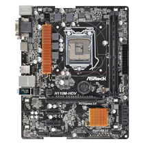 Motherboard Asrock S1151 H110m-hdv Hdmi Ddr4