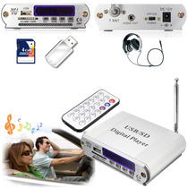 Potencia Para Moto O Auto Usb/sd Radio Y Control Remoto