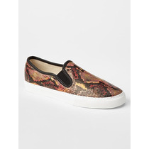 Zapatillas Panchas Gap Women Animal Print Talle 36/37