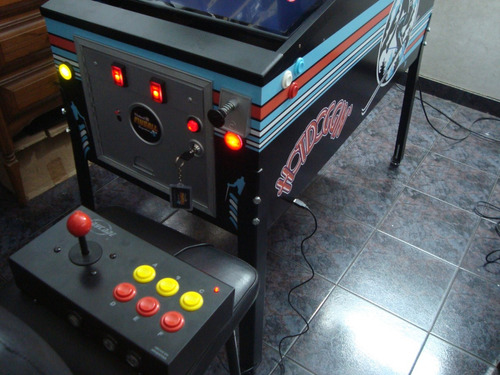 Virtual Pinball 40/32 Flipper Digital Arcade Mame Multijueg, Compra y Venta