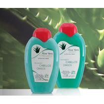 Acondicionador Y Shampoo De Aloe Vera Para Cabellos Grasos